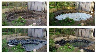 Фотоохота: 69 идей, как оформить пруд на даче своими руками 30