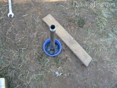Готовая скважина игла