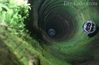 Позеленевший колодец