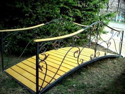 Садовые мостики как элемент дизайна