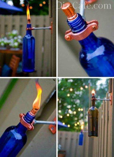 Бутылка-факел