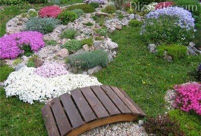 Сухой ручей – эффектный элемент ландшафтного дизайна