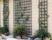 Шпалеры, прикрепленные к стенам