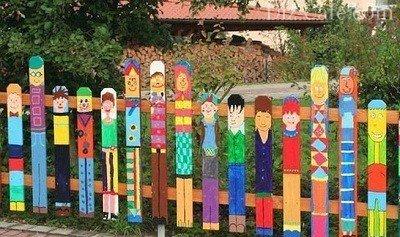 Сделать забор на даче недорого своими руками фото 96