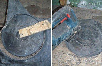 Способы вырезания колец из плотной резины