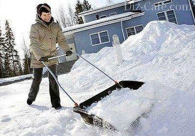Быстрая очистка территории от снега