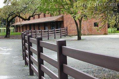«Ранчо» - ограда открытого типа