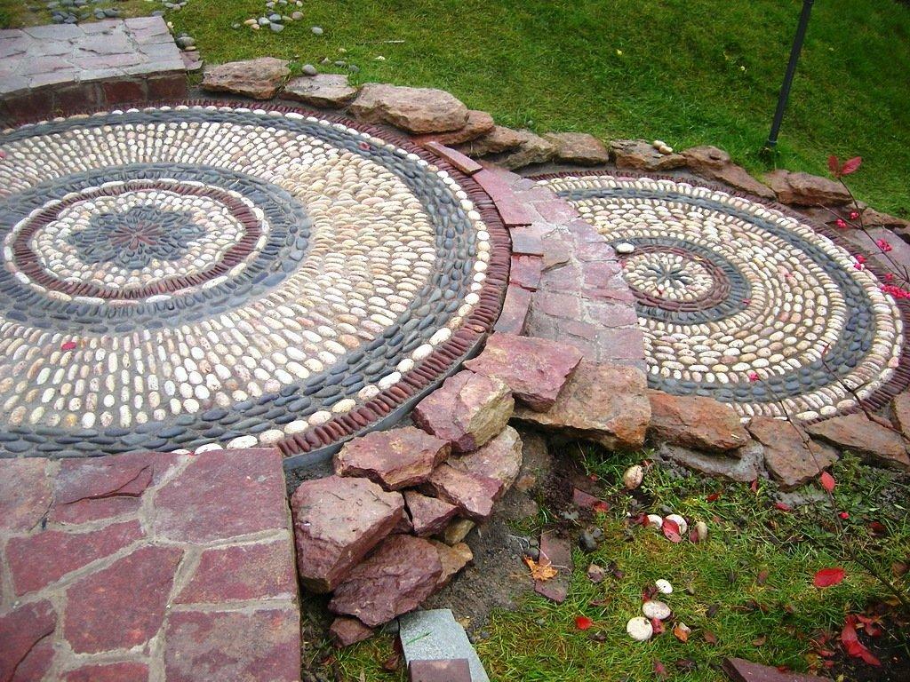 Примеры укладки натурального камня