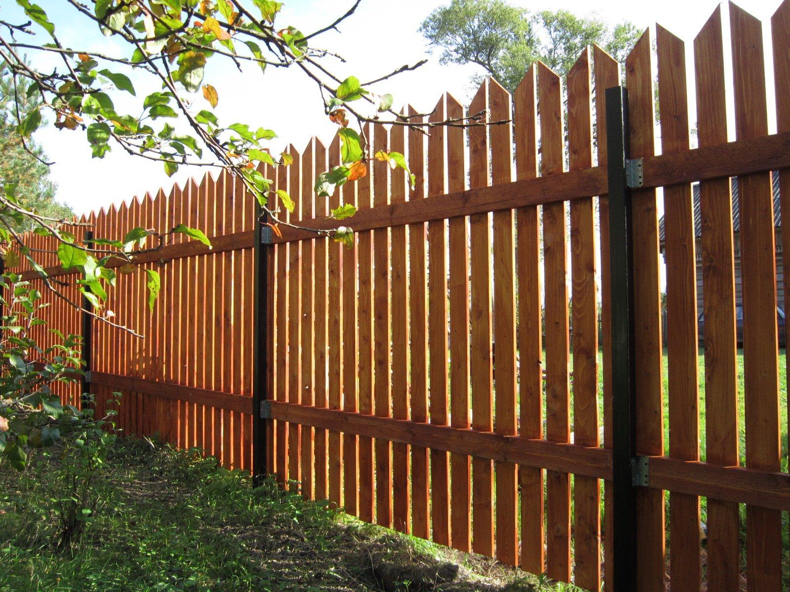 забор из штакетника деревянного фото знакомый мне бербер