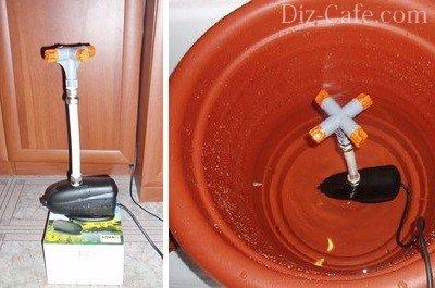 Обустройство системы подачи воды