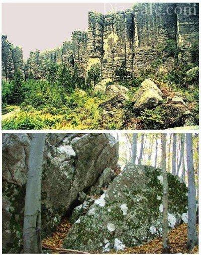 Чешская скалка - альпийская горка родом из Чехии