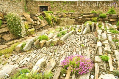 Методы укладки камня для альпинария чешская скалка