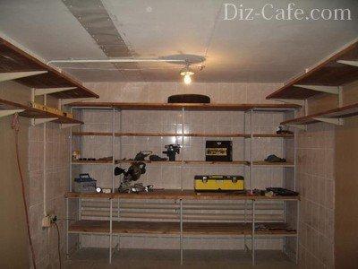 Внутренняя отделка гаража своими руками