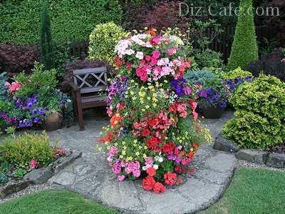 пространства в саду