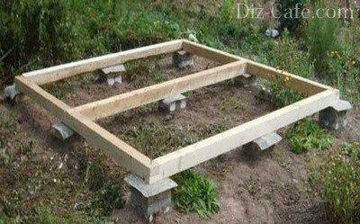 Как построить сарай своими руками (фото)