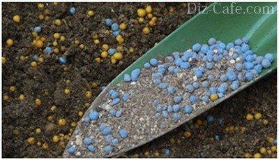 Минеральные удобрения в гранулах