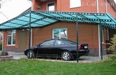 Автомобиль на даче: гараж, навес или место для стоянки? - Дом и