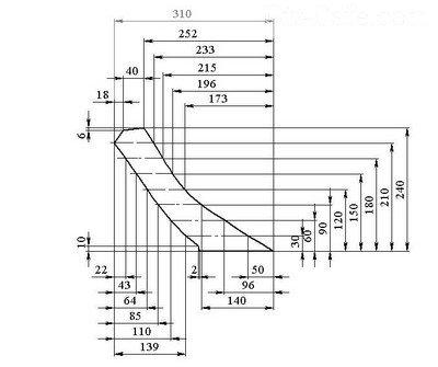 Схема раскроя основных элементов