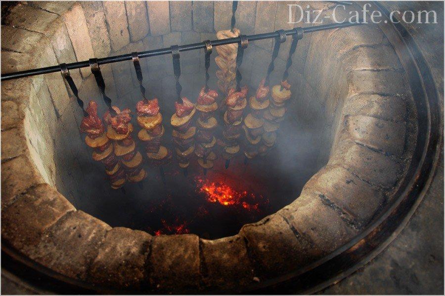 Печь барбекю своими руками на даче 20