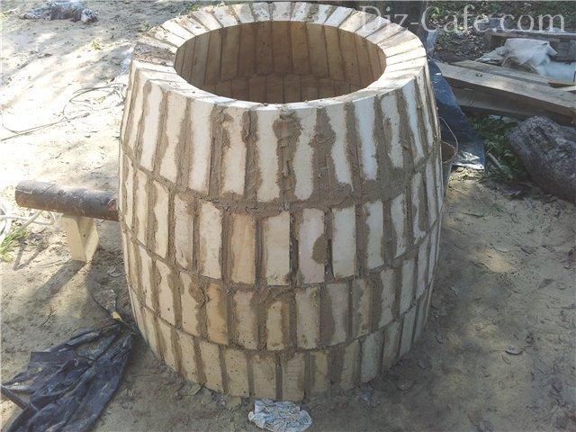 Печь-камин своими руками: виды порядовки и кладки 58