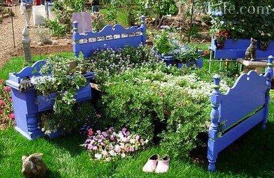 Живописный цветочный гарнитур