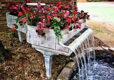 Новая жизнь для старого рояля