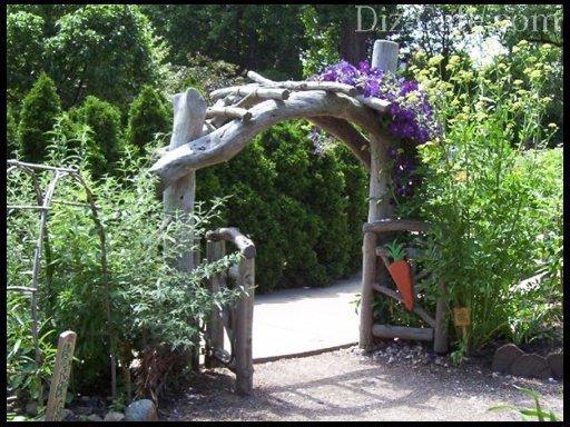 Арки для сада своими руками фото
