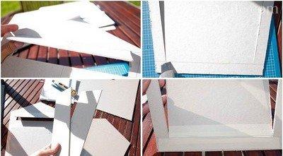 Вырезание деталей конструкции