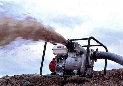 Мотопомпа на дизельном двигателе