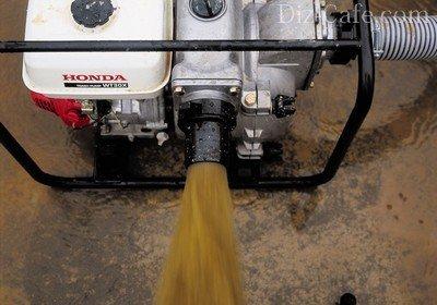 Техника для откачки грязной воды