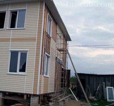 Строительство дачного дома своими руками