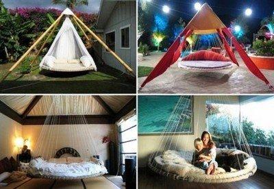 Батут-кровать