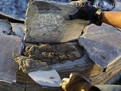 Оформление декоративным камнем