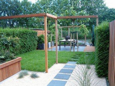 Красивый и простой в уходе сад