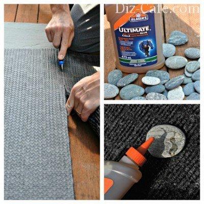 Создаем коврик из камней