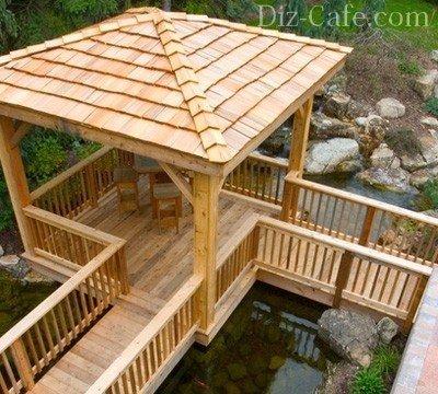 Популярные идеи обустройства места отдыха у водоема и пруда