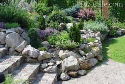 Подпорные стенки из камней