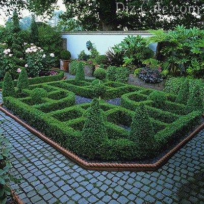 Сад в регулярном стиле