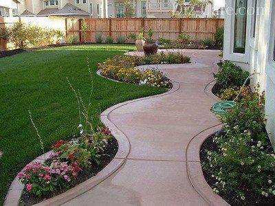Форма садовых дорожек