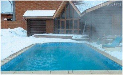 Эксплуатация стационарного бассейна зимой