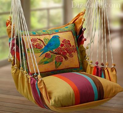 Уютное кресло-гамак