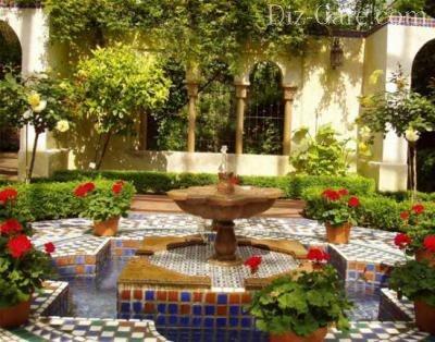 Сад, примыкающий к дому