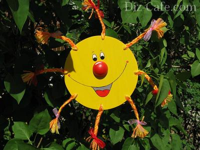 Красочное солнышко в саду