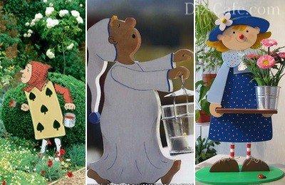Оригинальные варианты фигурок