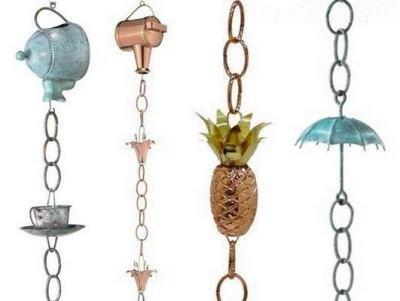 Варианты дождевых цепей