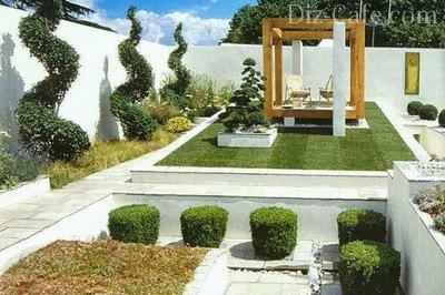 Замощенный двор