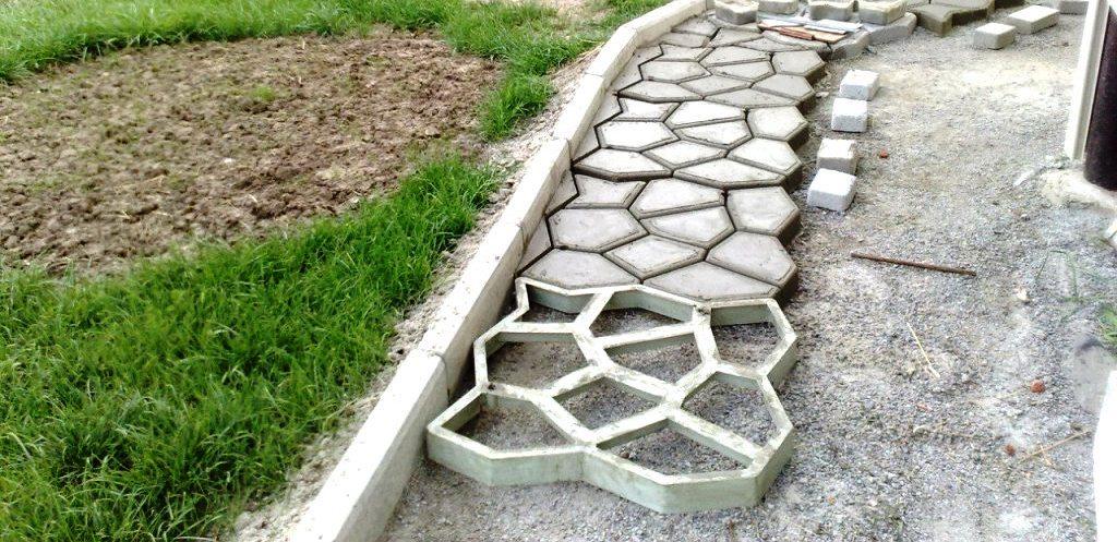 Смесь для заливка бетонных дорожек объемный вес керамзитобетона для стяжки пола