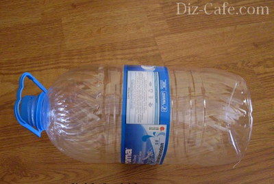 Пятилитровая бутылка для балласта запорного крана