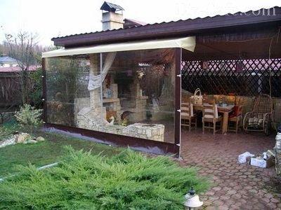 Прозрачные занавески – эффект открытого пространства