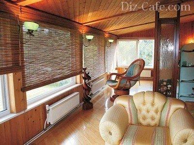 Бамбуковые рулонные занавески